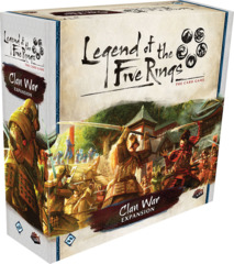 Legend Of The Five Rings LCG: Clan War Expansion