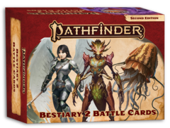 Pathfinder 2E: Bestiary 2 Battle Cards