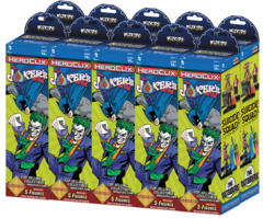 DC Comics HeroClix - The Joker's Wild! - Booster Brick