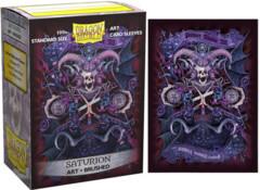 Dragon Shield Art Brushed Sleeves: Saturion