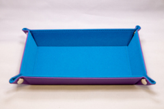 Best Dice Tray - Rectangle: Blue W\Purple