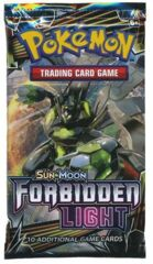 Sun & Moon Forbidden Light Booster Pack