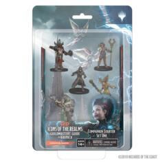 Dungeons & Dragons Fantasy Miniatures: Icons of the Realms Set 10 Guildmaster's Guide to Ravnica Companion Starter One