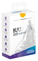 Katana Sleeves 100ct - Yellow