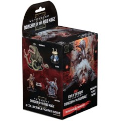 Dungeons & Dragons Fantasy Miniatures: Icons of the Realms Set 11 Waterdeep - Dungeon of the Mad Mage Booster Pack