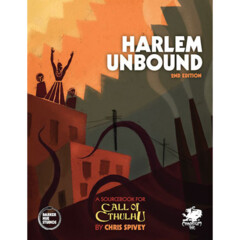 Call of Cthulhu 7E RPG: Harlem Unbound 2nd Edition