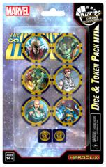 Marvel Hc: Avengers Infinity Dice & Token Pack