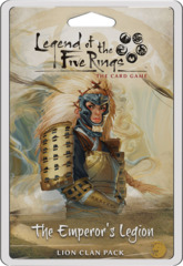 Legend Of The Five Rings LCG: The Emperor's Legion - Lion Card Pack