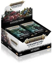 Warhammer Age Of Sigmar Champions Savagery Booster Box