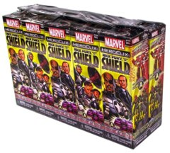 Heroclix Nick Fury Agent Of SHIELD 10 Ct. Booster Brick