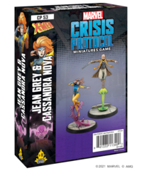 Marvel: Crisis Protocol - Jean Grey & Cassandra Nova Character Pack