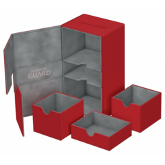 Ultimate Guard Twin Flip N Tray 200+: Red