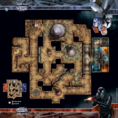 Star Wars Imperial Assault: Skirmish Map - Lothal Wastes