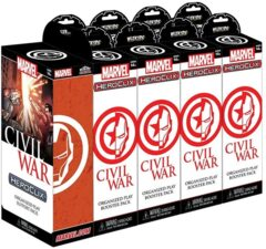 Heroclix Civil War 8 Ct. Plus Super Booster Brick