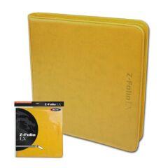 BCW Z-Folio LX 12 Pocket: Yellow