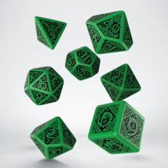 Celtic 7-Die Set - Green/Black