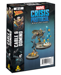 Marvel: Crisis Protocol - Cable & Domino Character Pack