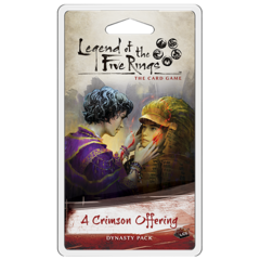 Legend of the Five Rings LCG: A Crimson Offering Dynasty Pack