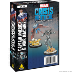 Marvel: Crisis Protocol - Captain America & War Machine Character Pack