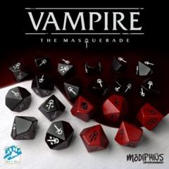 Vampire The Masquerade 5E 20-Die Set
