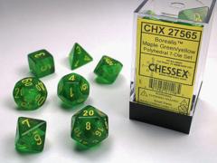 Borealis Maple Green/yellow 7-Die Set