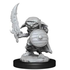 Pathfinder Battles Deep Cuts Miniatures - Male Goblin Fighter