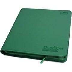 Ultimate Guard QuadRow Zipfolio: Xenoskin - Green
