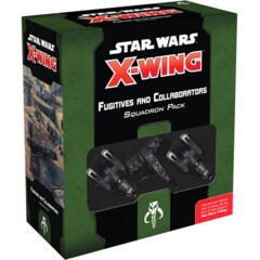 Star Wars: X-Wing - 2nd Edition: Fugitives and Collaborators Squadron Pack