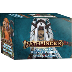 Pathfinder 2E: Advanced Player's Guide Spell Cards