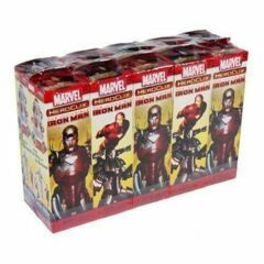 Heroclix The Invincible Iron Man 10 Ct. Booster Brick