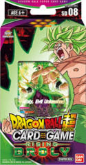 Dragon Ball Super Series 6 Starter Deck - Rising Broly - Deck 8