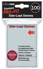 Ultra Pro - 100 ct PRO-Fit Standard Side Load Deck Protectors