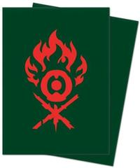 Guilds of Ravnica - Gruul Clans Standard Deck Protector Sleeves - 100ct