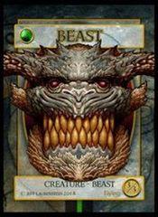 Beast Token 3/3 - Jeff Laubenstein artist token