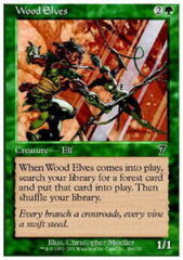 Wood Elves - Foil Foreign