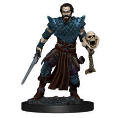 DUNGEONS AND DRAGONS: ICONS OF THE REALM PREMIUM FIGURE (WAVE 4): MALE HUMAN WARLOCK