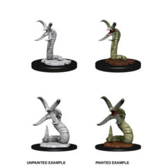 DUNGEONS AND DRAGONS: NOLZUR'S MARVELOUS UNPAINTED MINIATURES: W12 GRICK AND GRICK ALPHA