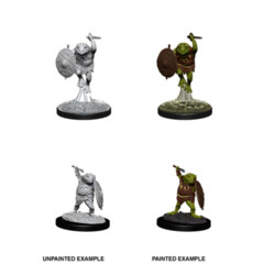 DUNGEONS AND DRAGONS: NOLZUR'S MARVELOUS UNPAINTED MINIATURES: W12 BULLYWUG