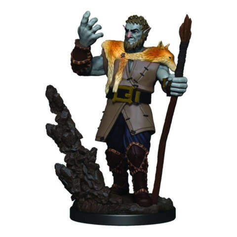 DUNGEONS AND DRAGONS: ICONS OF THE REALM PREMIUM FIGURE (WAVE 3): MALE FIRBOLG DRUID