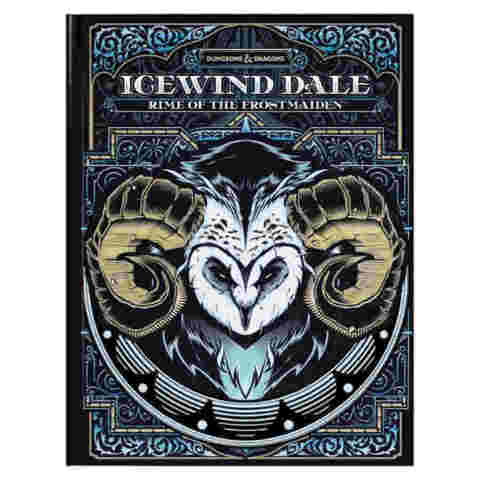 DUNGEONS AND DRAGONS 5E: ICEWIND DALE: RIME OF THE FROSTMAIDEN (EXCLUSIVE ALTERNATE COVER)