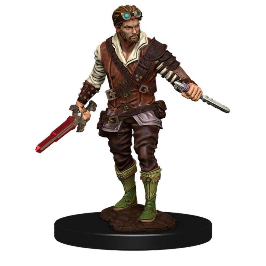 DUNGEONS AND DRAGONS: ICONS OF THE REALM PREMIUM FIGURE (WAVE 4): MALE HUMAN ROGUE