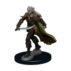 PATHFINDER BATTLES: PREMIUM PAINTED FIGURE: ELF FIGHTER MALE
