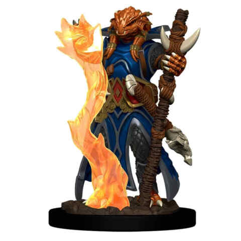 DUNGEONS AND DRAGONS: ICONS OF THE REALM PREMIUM FIGURE (WAVE 4): FEMALE DRAGONBORN SORCERER