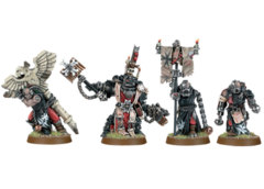 Black Templars Chaplain Grimaldus & Retinue (ATO)