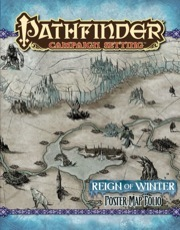 Reign of winter Poster Map Folio