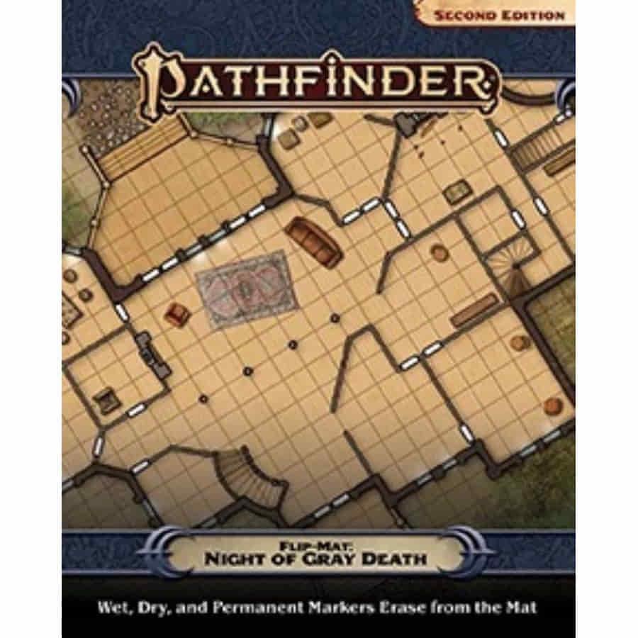 PATHFINDER RPG: FLIP-MAT: NIGHT OF THE GRAY DEATH