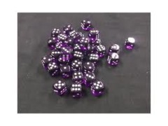 purple with White 36 translucent 12mm Chx 23807