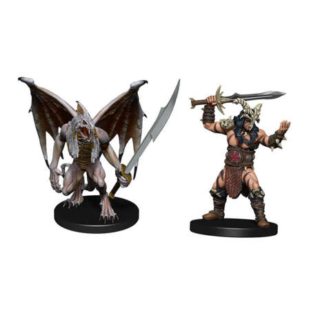 DUNGEONS AND DRAGONS: ICONS OF THE REALMS MINIATURES: DESCENT INTO AVERNUS - ARKHAN AND DARK ORDER