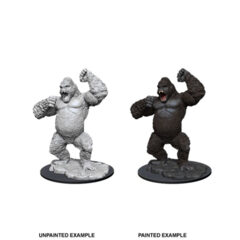 DUNGEONS AND DRAGONS: NOLZUR'S MARVELOUS UNPAINTED MINIATURES: W12 GIANT APE
