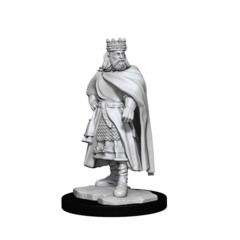 WIZKIDS DEEPCUTS UNPAINTED MINIATURES: W12 TOWNS PEOPLE: CASTLE I